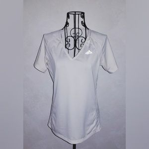 Adidas Women's Running T-shirt White SZ S